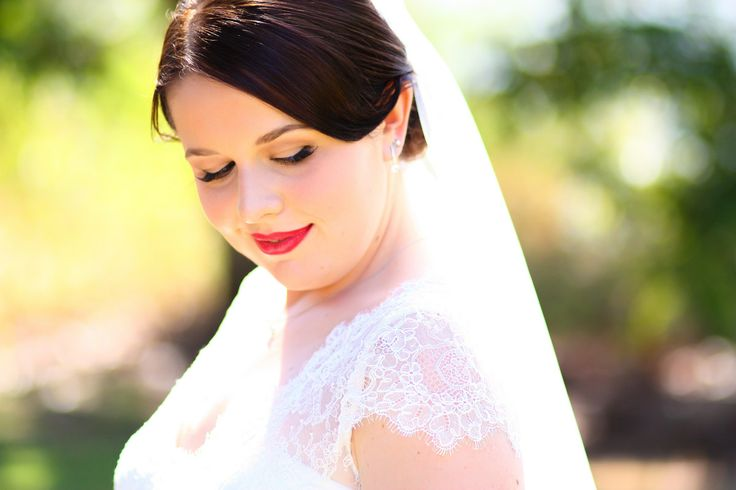 Bride + sun