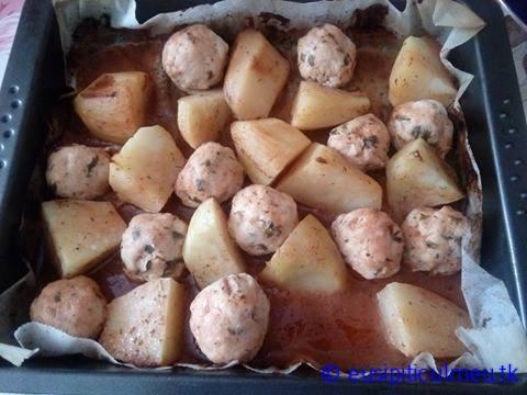 Chiftelute cu cartofi la cuptor (fara gluten, fara ou) – eusipiticulmeu