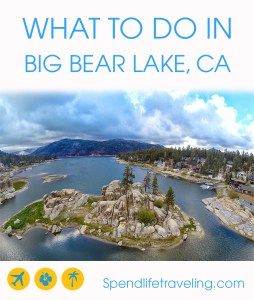 What to do in Big Bear Lake, California