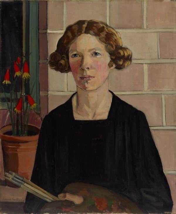 Margaret Preston (Australian, 1875-1963) - Self portrait (1930) - Oil on canvas - Art Gallery of New South Wales, Sydney