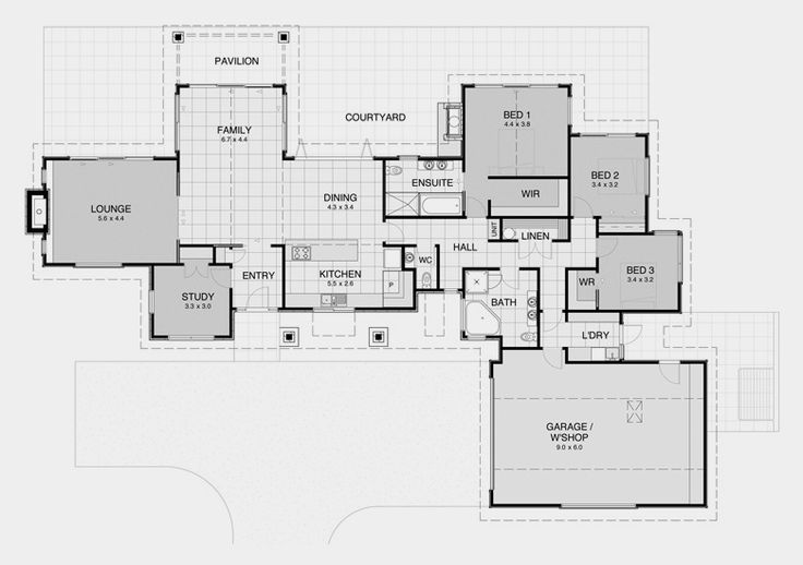 David Reid Homes - Heritage 6 specifications, house plans & images