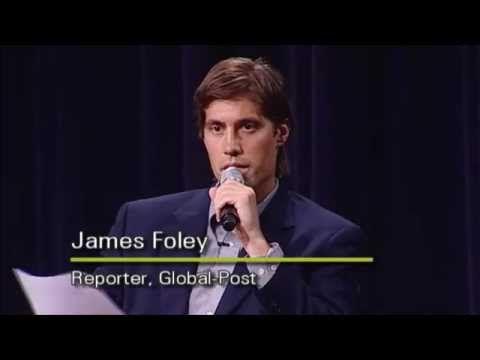 Journalist James Foley (MSJ08) Speaks at Medill in 2011