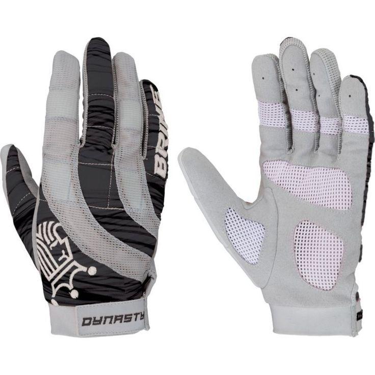 Brine Women's Dynasty Lacrosse Gloves, Black