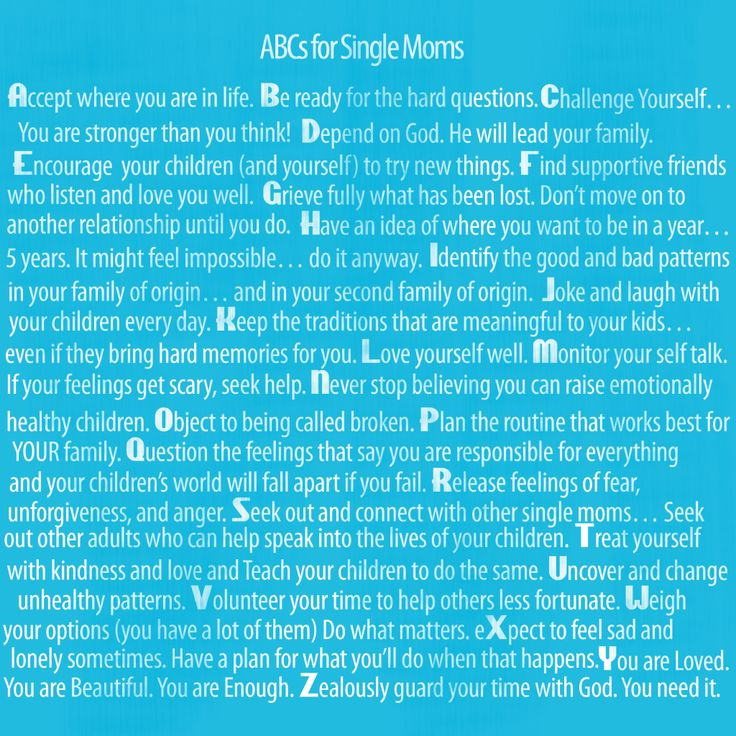 """ABCs for single Moms - """"Be ready for the hard questions""""... Like when he keeps asking why he doesn't see his daddy anymore or asks me when daddy will pick him up today. It breaks my heart everytime."""