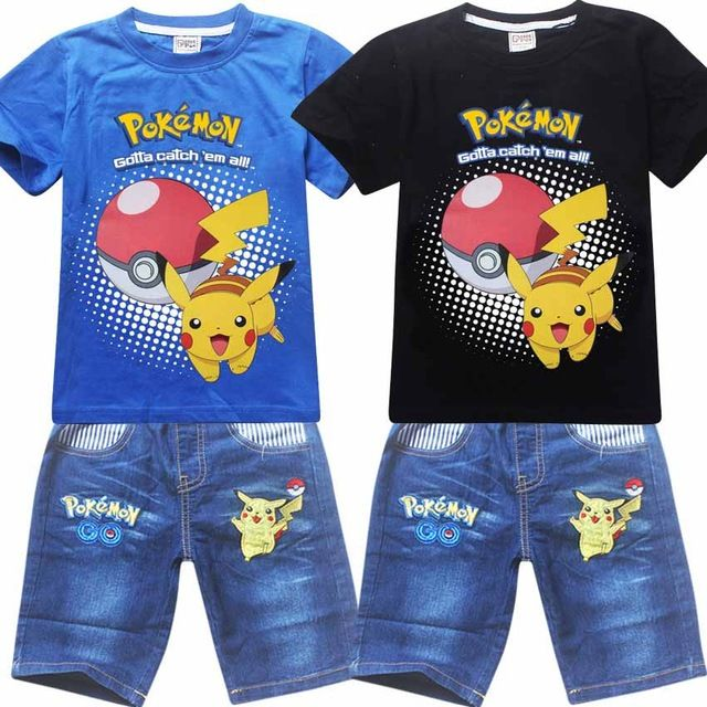 We love it and we know you also love it as well 2016 children shorts sets toddler baby boy all infant girl pokemon go pikachu clothes for little kids tracksuit costume clothing just only $14.97 with free shipping worldwide  #boysclothing Plese click on picture to see our special price for you