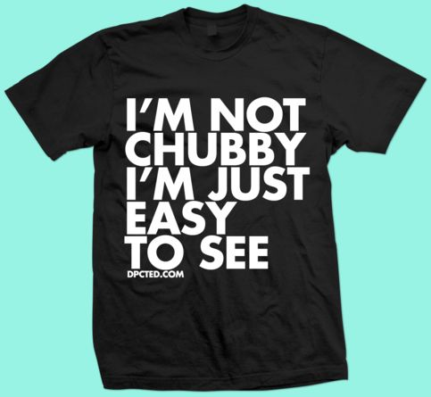13 funny typographic t shirts chubby bearded and awesome by dpcted fancy tshirt