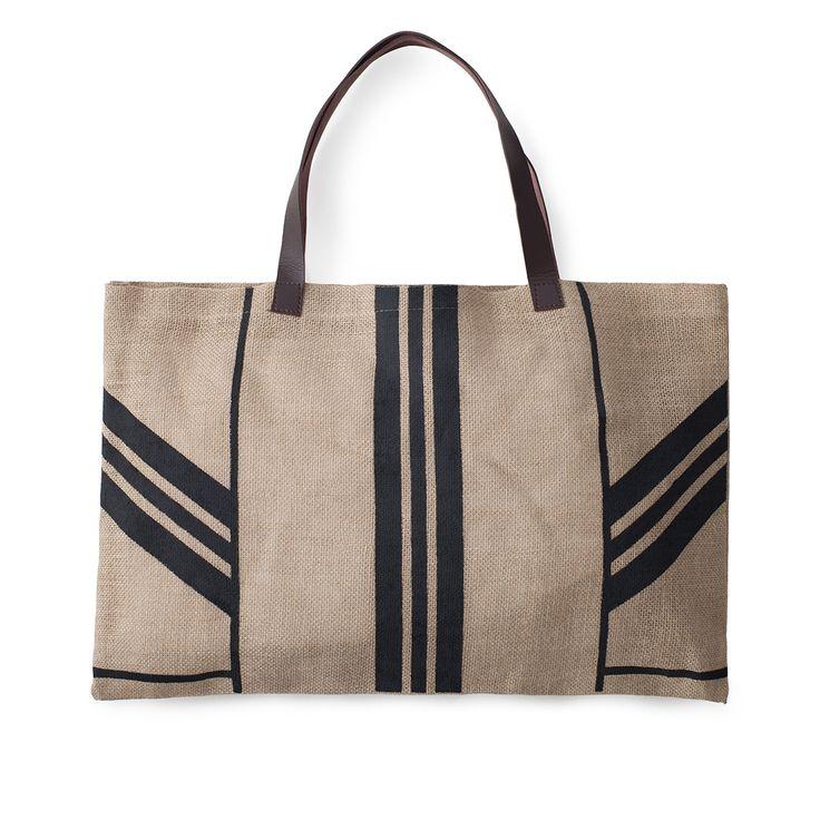 Stripe Jute Bag | The Beach People : 22.00 USD