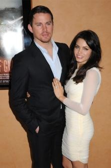 Channing Tatum and his wife Jenna Dewan...such a cute couple