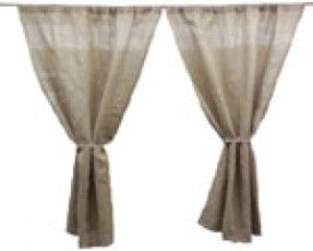 "One Curtain Panel 60"" x 108"" $49.  Not sure where I'm going to put them, but, I want them!"