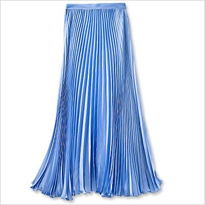 Spring Fashion Trends — Sweet & Soft: Ralph Lauren Blue Label Skirt