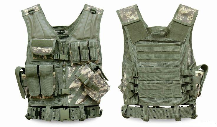 Разгрузочный жилет с ремнем АТ-Диджитал USMC GEN. II