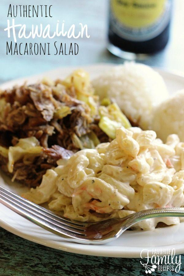 how to make hawaiian macaroni salad
