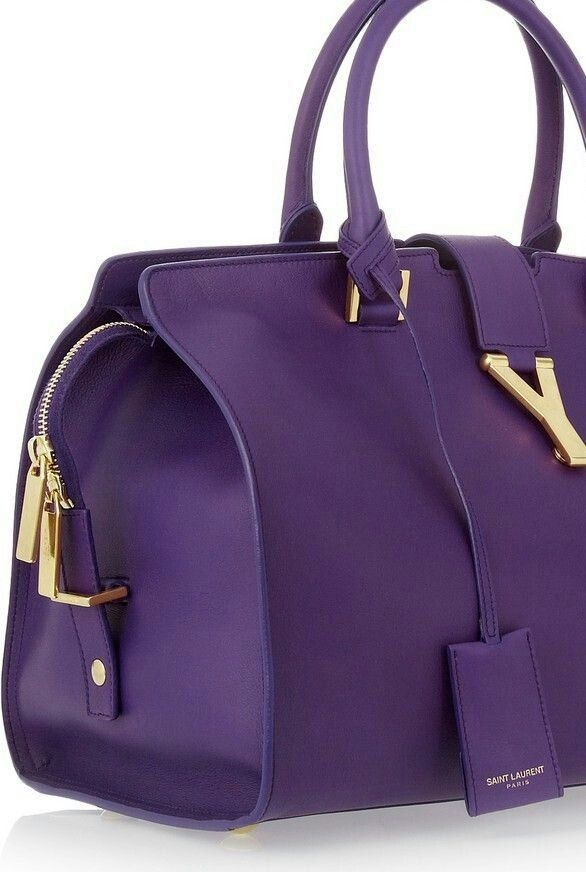 Image via 32 Beautiful purple handbags Image via Purple handbags Image via  Nwt coach brooke super rare purple signature sateen hobo tote bag purse  Image via ... 35ea0baa65