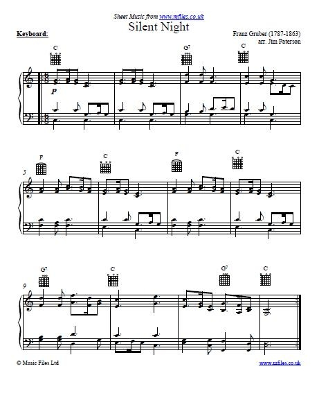 70 best Christmas Carols sheet music images on Pinterest ...