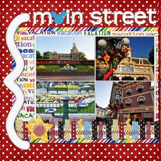 Magic Kingdom Main Street - General page 1