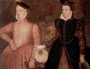 Mary, Queen of Scots married her cousin Henry Stuart, Lord Darnley, on this day 29th July 1565  in the Old Chapel at Holyrood, Edinburgh, thus alienating Scottish protestants and England because Darnley was a Catholic heir to the throne