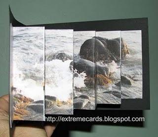 Lenticular Pop-Up Card: Cards Ideas, Cards Turning, Pop Up Cards, Creative Cards, Cards Folding, Lenticular Popup, Kim Cards, Cards Pop, Popup Cards