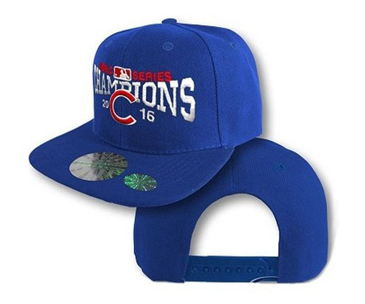 Men's Chicago Cubs New Era 2016 World Series Champions 9FIFTY Snapback Hat - Royal Blue