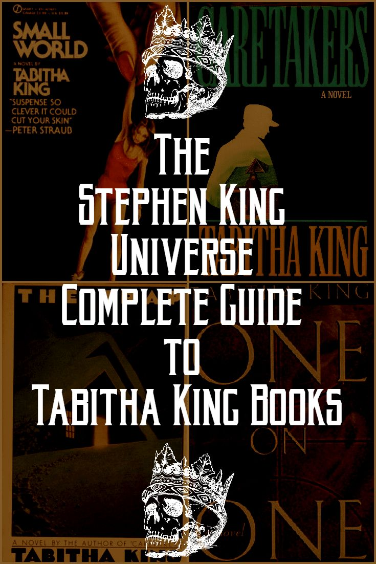 Did you know that Stephen King's wife Tabitha King is an author too? This is a guide to all of her books.