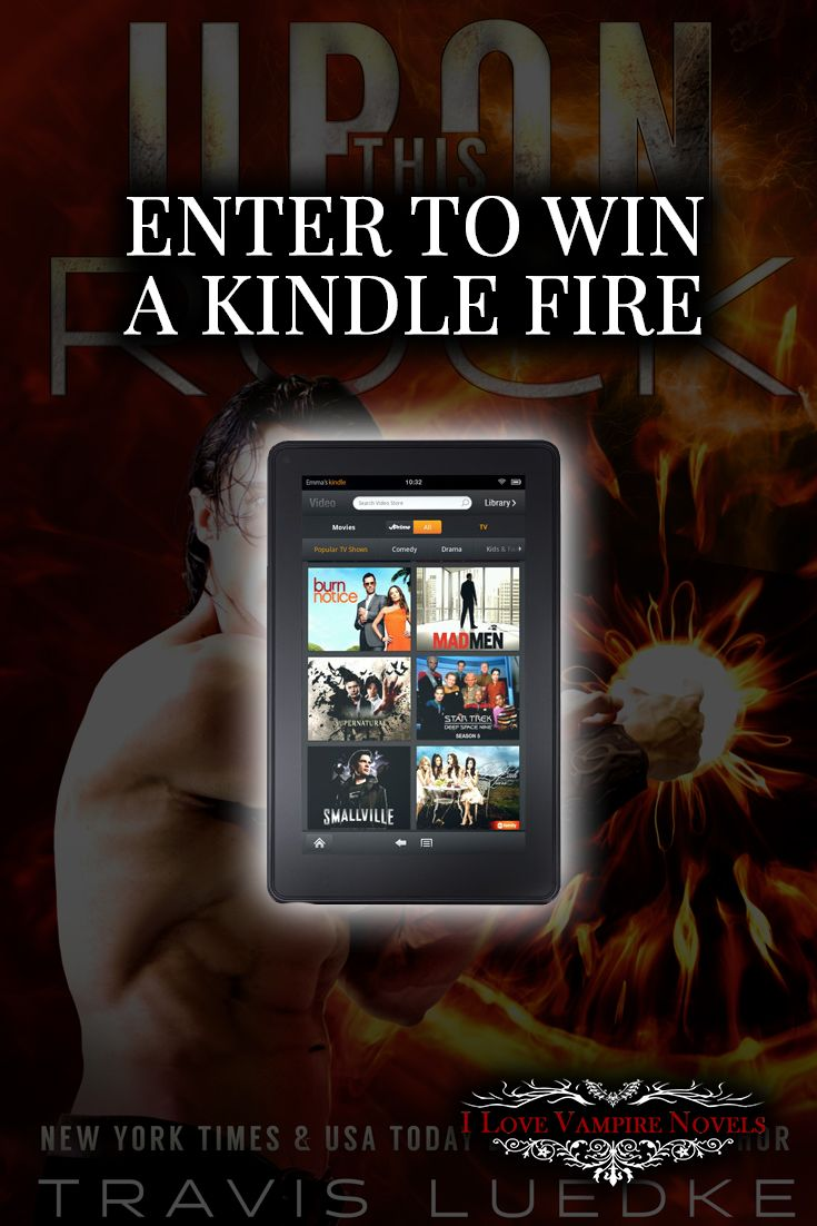 Win A Kindle Fire From Ny Times & Usatoday Bestselling Author Travis Luedke  Http: