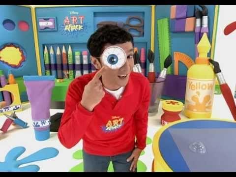 Swollen Eye - Art Attack Sneak Peek - Disney Channel Asia