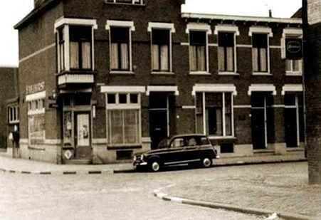 Deventer Radstakeweg/hoek 1e Weerdsweg 1967