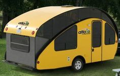 Alto. This is great. It's alike a popup camper, but it's a teardrop.