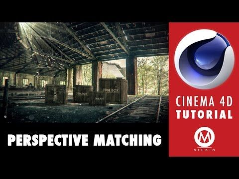 Cinema 4D Tutorial: Learn Perspective Matching in 9 minutes - YouTube