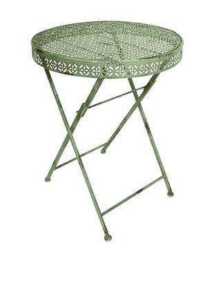 44% OFF Esschert Design USA Industrial Heritage Round Bistro Table