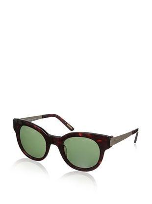 66% OFF Nina Ricci Women's NR3701 Sunglasses, Dark Green/Brown