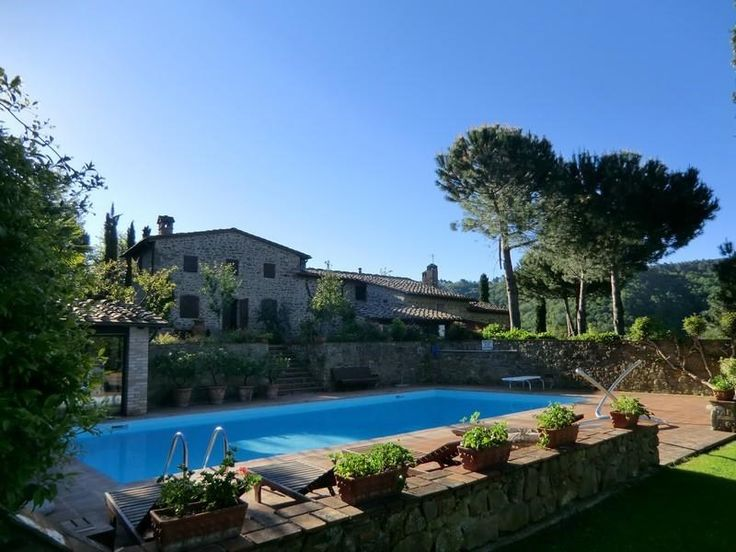 Luxury Single Family Home Property in Gaiole In ChiantiSiena | Charming countryhouse in Chianti region | Milan Sotheby