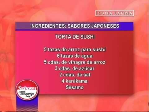 Ingredientes de la Torta de Sushi: Sabores ¿Qué cocinamos hoy? // Zona L...