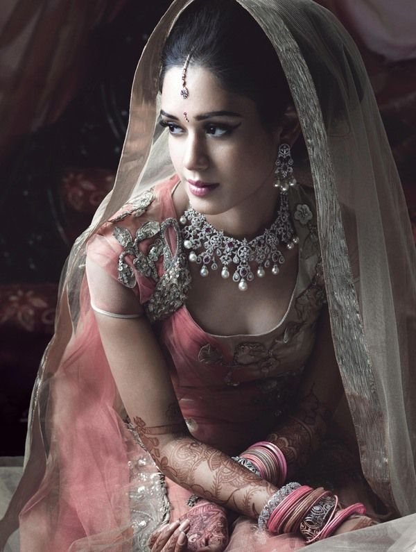 Brides in India really know how to do it right.