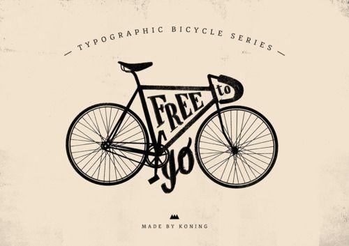 Lyla & Blu: Types Series, Cycling, Graphics Design, Typographic Bicycles, Kone 40, Bike Types, Typography, Bike Posters, Typographic Design