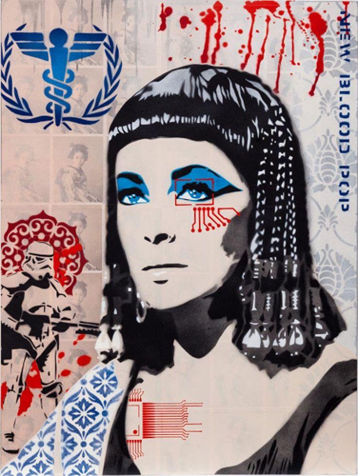 Pharaoh 1.5, Brad Novak. Parnell Gallery Artist. http://www.parnellgallery.co.nz/artists/brad-novak/