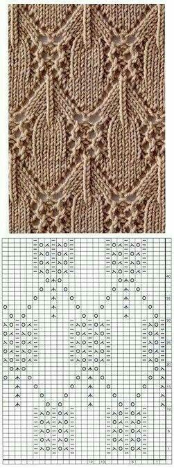 Kira knitting: Knitted pattern no. 191