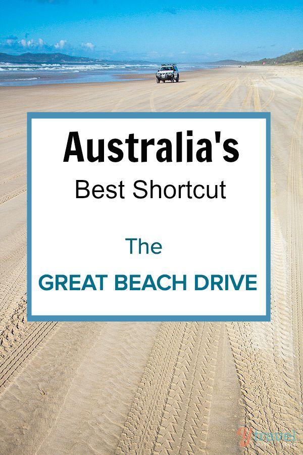 Australia Best Shortcut - The Sunshine Coast's Great Beach Drive in Queensland