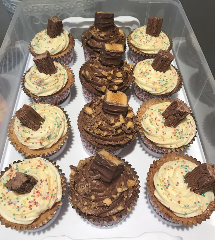 Crunchier and 99 Cupcakes