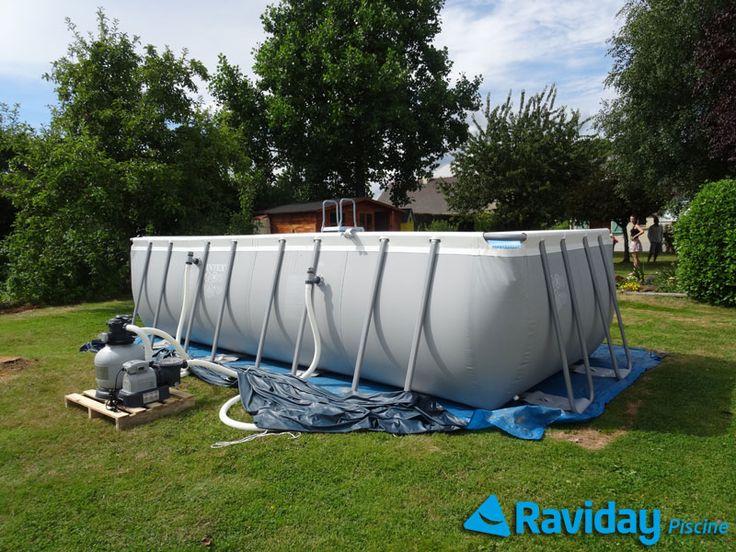 Les 25 meilleures id es de la cat gorie installation for Installation piscine hors sol bois