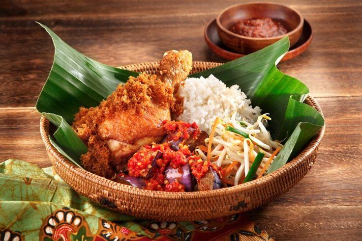 Nasi padang Indonesia