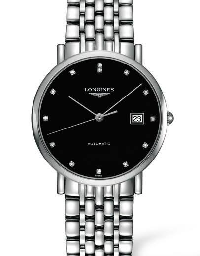 """Khám phá mẫu đồng hồ Longines được đính 13 viên kim cương trong bộ sưu tập """"The Longines Elegant Collection"""". Chiếc đồng hồ siêu mỏng với thiết kế đặc biệt tôn vinh vẻ đẹp vượt thời gian.  http://www.donghotantan.vn/dong-ho-longines.html"""