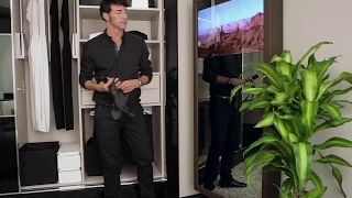 Oculting Soluciones para interiorismo Residencial Premium. Los espejos TV practicables de la Avant Solution pueden enfocarse hacia donde se desee, adaptándose siempre a las distintas funciones de una estancia a lo largo del día. #interiordesigner #interiordesign #hoteldesign #interiorstyle #amazing #architecture #mirrortv #espejotv
