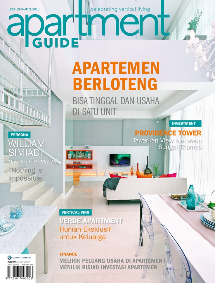 Apartment guide, celebrating vertical living