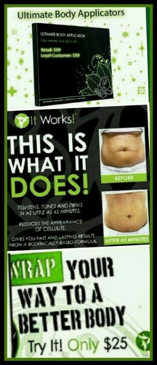 Looking for a safe and effective way to lose weight and see results that last? Check out the amazing products by It Works Global for solutions that last at: www.ANewSexyU.com www.facebook.com/JosieBurdier itworks.beautywraps@gmail.com
