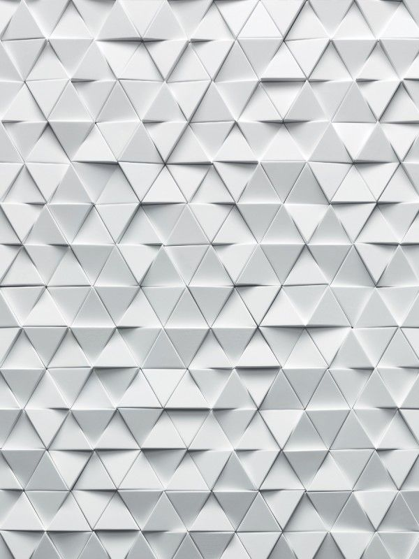 Triangular 'Marsden' tile by Giles Miller Studio