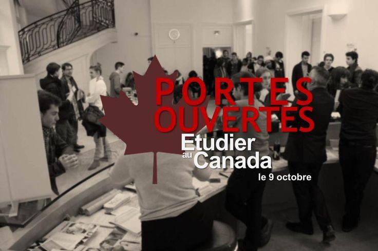 #PARIS Portes ouvertes «Étudier au Canada» : Présentation @collegeboreal!Questions>  https://goo.gl/yQlv3N