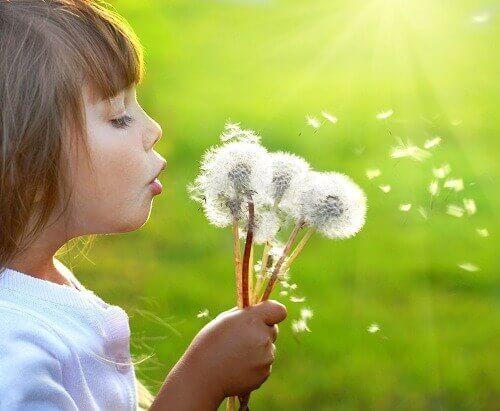 Kind met Bloemen