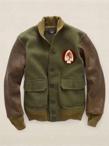 Ross Varsity Jacket - RRL See All  - RalphLauren.com
