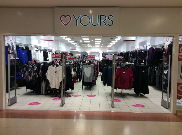 Yours: Fashionable clothing for women...love your curves ladies!