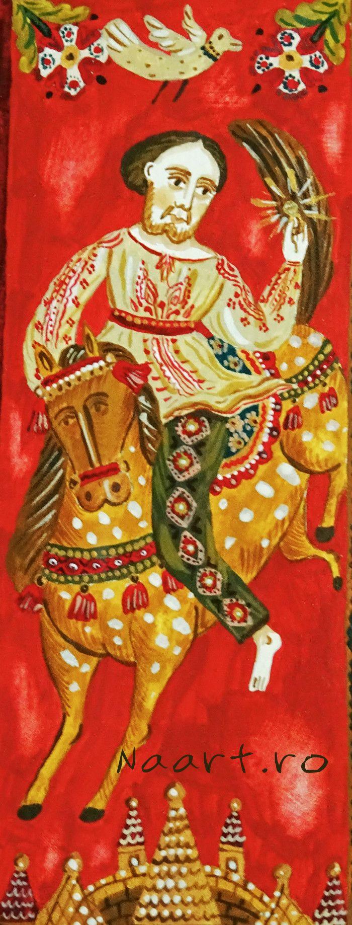 The brave one Detail of a painting by Naart.ro http://naart.ro/en/povestea-lui-cenusotca/
